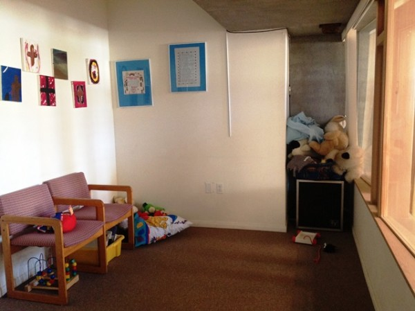 cry room before