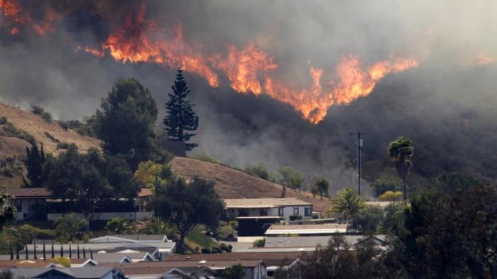 fire fallbrook