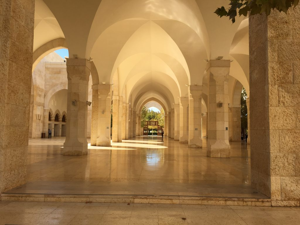 Mosque that houses a private office for the king of Jordan, King Abdullah