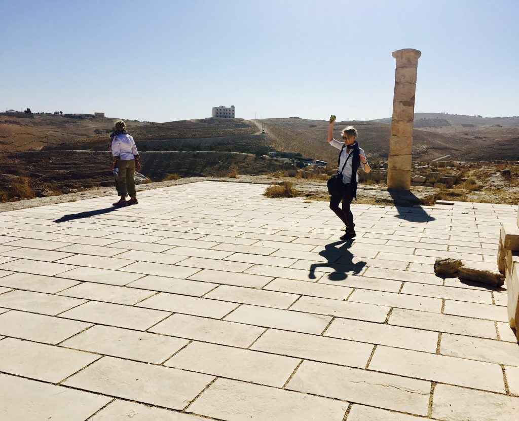 Salome danced for Herod and his friends in this spot 2,000 years ago.
