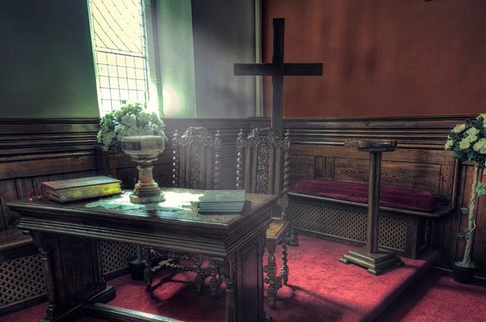 church dark blog